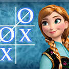 Anna Frozen Fever TicTacToe game