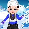 Baby Srna Winter Dressup game