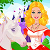 Barbie Unicorn Caring game