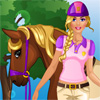 Barbie goes Horse Riding game