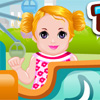 Baby in Theme Park game
