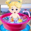 Baby Girl Bathing game
