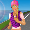 Barbie goes Jogging game