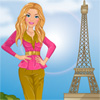 Barbie visits Paris game