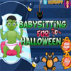 Babysitting for Halloween game