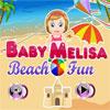 Baby Melisa Beach Fun game
