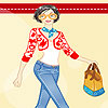 Beth shopping dress up game