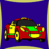 Best racing car coloring game