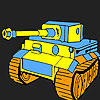 Big tank coloring game