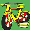 Big school bike coloring game
