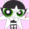Blossom PowerPuff Coloring game