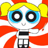 Bubbles PowerPuff Coloring game