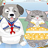 Cat Dog Dress up game
