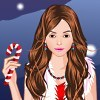 Candy s Christmas Party Dress Up game