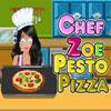 Chef Zoe - Pesto Pizza game