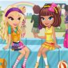 Chic School Girls Dressup game