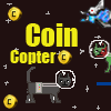 Coin Cat Copter game