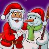 Color the Santa game