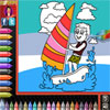 Coloring Book - Beach game