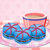 Colorful Macaroons Decorating game