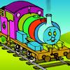 Coloring Thomas game