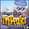 Crystal TriPeaks Solitaire game