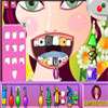 Crazy Girl at Dentist game