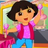 Cute Dolly in Candyland game