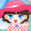Cute Room Girl Dress Up game