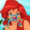 Cute Mermaid Nose Doctor game
