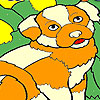 Dizzy dog coloring game