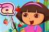 Dora Cut Fruit game