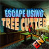 Escape using Tree Cutter game