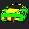 Fast free car coloring game