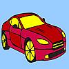 Fabulous gallery car coloring game