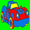 Fantastic sport car coloring game