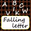 Falling letters game
