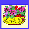 Flowers in the vase coloring game