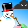 Flying Snowman game
