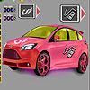 Focus Car Coloring game