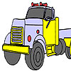 Gas truck coloring game