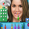 Gemma Atkinson at Dentist game