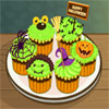 Halloween Cup Cake game