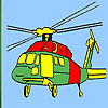 Heavy helicopter coloring game