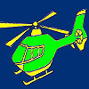 High turbo helicopter coloring game