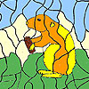 Hungry beaver coloring game