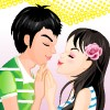 Kissing Couple Dressup game