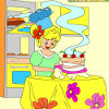Kids coloring Amazing cake game