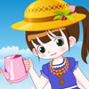 Little Gardener Girl Dress up game