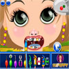 Little Girl at Dentist game
